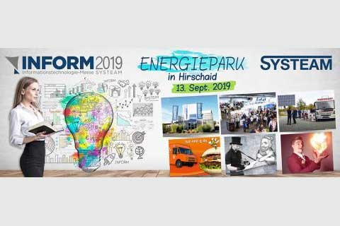 SYSTEAM Hausmesse INFORM 2019 in Hirschaid